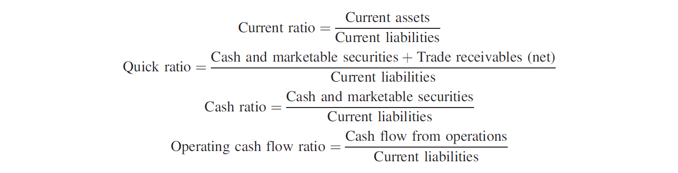 how to find current liabilities