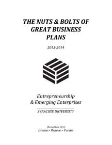 nuts and organizations nuts and bolts business plan whitman pertain whitman