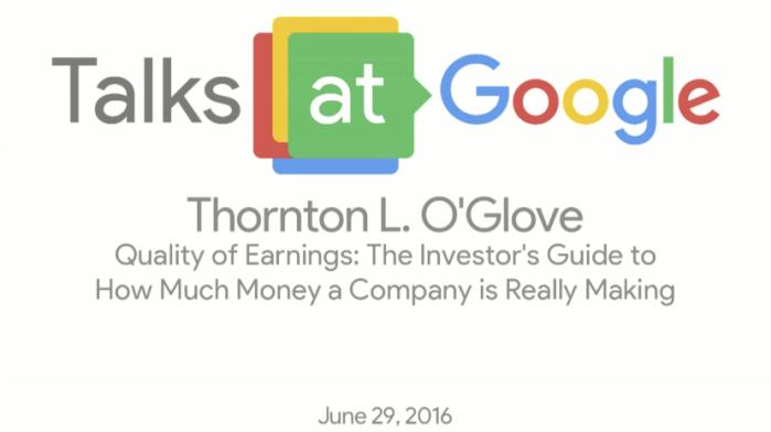Thornton O Glove Talks at Google